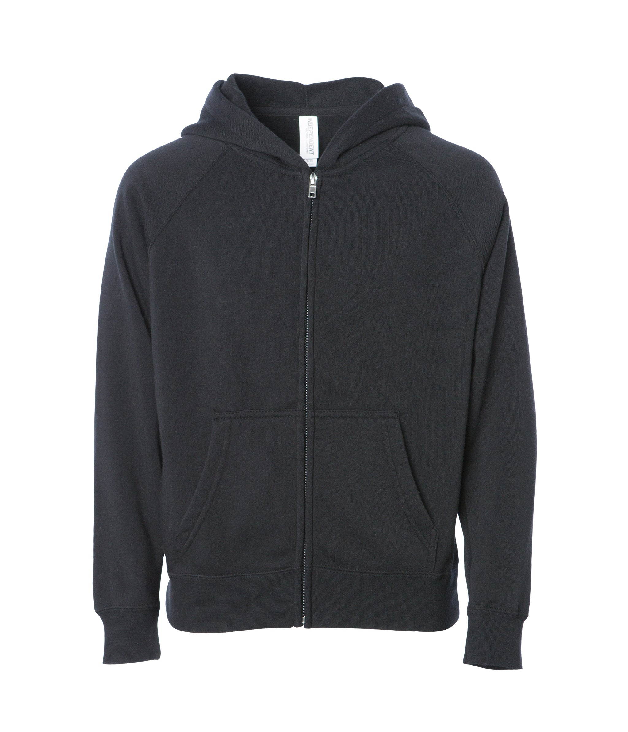 6629e53237097 Youth Special Blend Raglan Zip Hoodie | Independent Trading Company