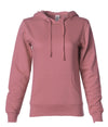 SS650 Women's Lightweight Pullover Hooded Sweatshirt in color Dusty Rose