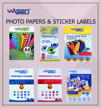 Yasen Label and Sticker - Crystal Image Paper Marketing Corp