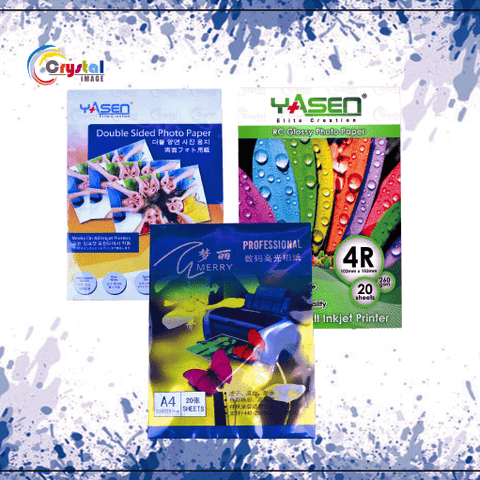 Photo Paper - Crystal Image Paper Marketing Corp