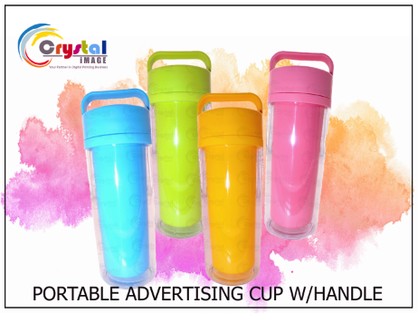 ADVERTISING CUP WITH HANDLE