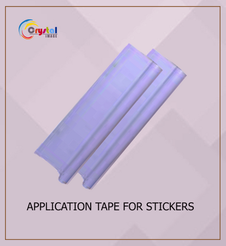 Application Tape for Stickers