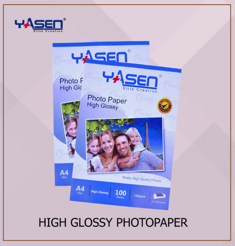 High Glossy Photopaper