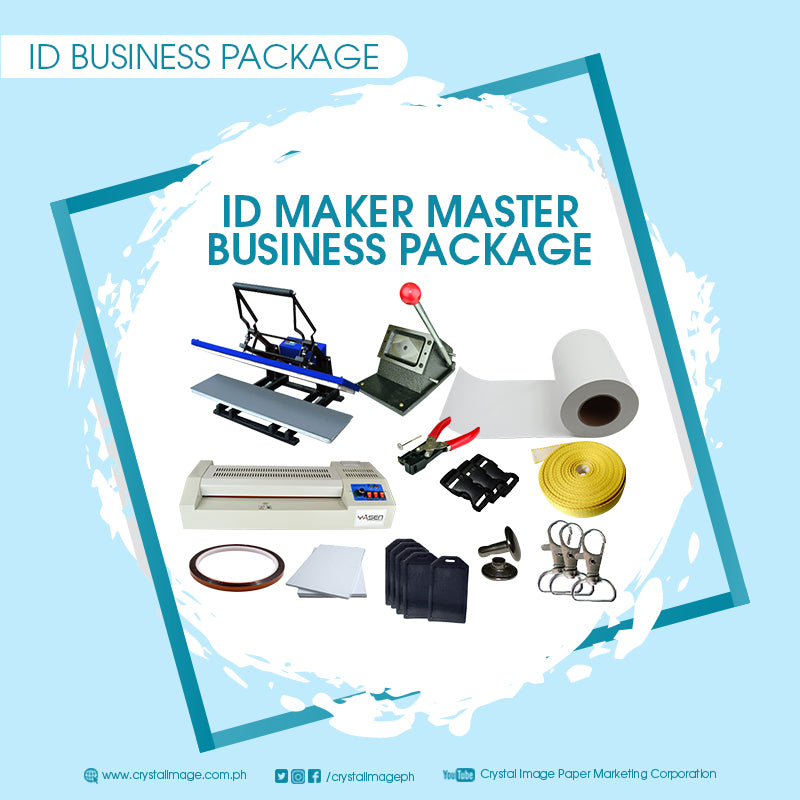 ID business printing package, printing package, printing ID package