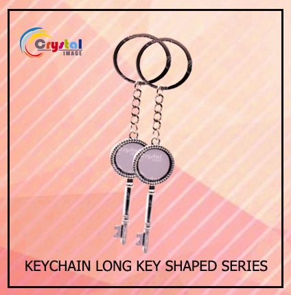 Key Shaped Keychain