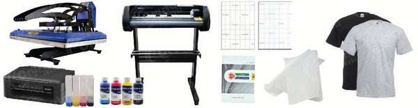 Print and Cut Heat Press Master Business Package