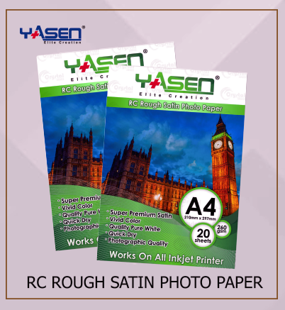 Rough Satin Photo Paper