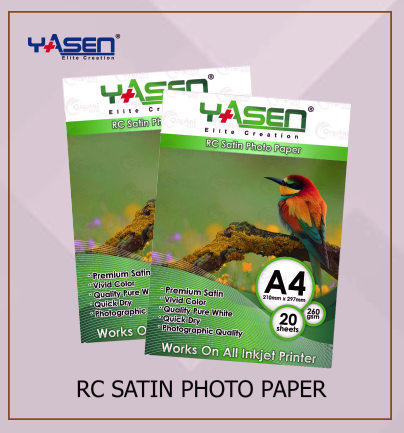 RC Satin Photo Paper