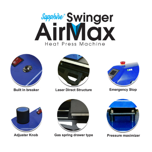 Swinger Air Max Heat Press Machine