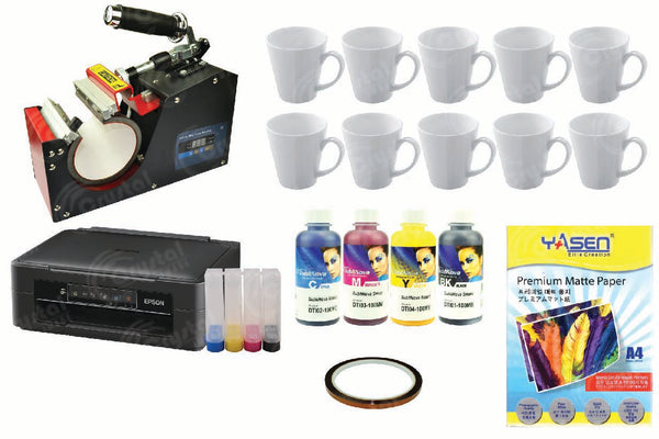 V-Shape Mug Art Starter Business Package