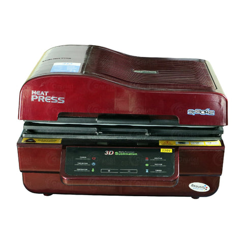 3D Sublimation Vacuum Heat Press Machine - Crystal Image Paper Marketing Corp