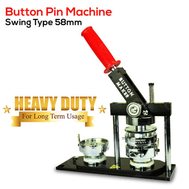 Button Pin Machine - Swing Type