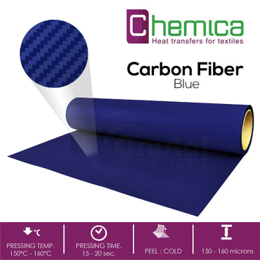 Chemica Heat Transfer Vinyl - Carbon Fiber - Crystal Image Paper Marketing Corp
