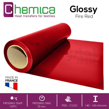 Chemica Transfer Vinyl - Glossy - Crystal Image Paper Marketing Corp