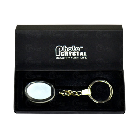 Crystal Keychain - Crystal Image Paper Marketing Corp