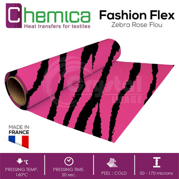 Chemica Heat Transfer Vinyl - Fashion Flex - Crystal Image Paper Marketing Corp