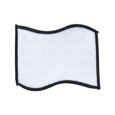 Flag Shaped Patch - Crystal Image Paper Marketing Corp