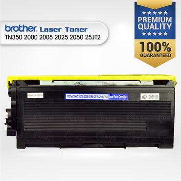 Laser Toner: Brother TN350/2000/2005/2025/2050/25JT2