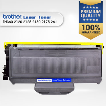 Laser Toner: Brother TN360/2120/2125/2150/2175/26J
