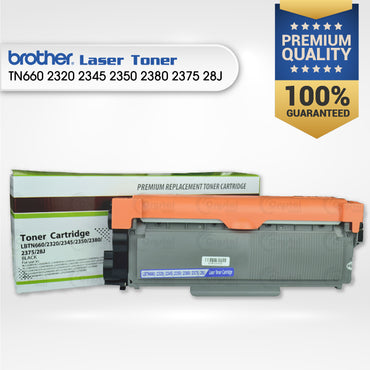 Laser Toner: Brother TN660/2320/2345/2350/2380/2375/28J