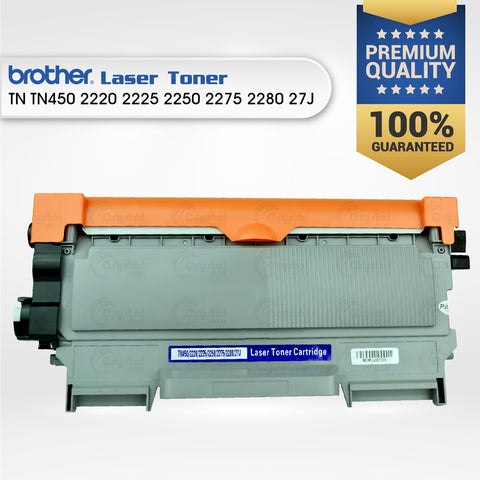 Laser Toner: Brother TN TN450/2220/2225/2250/2275/2280/27J