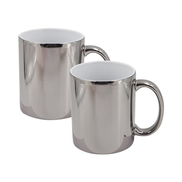 Uncoated Metallic Mug