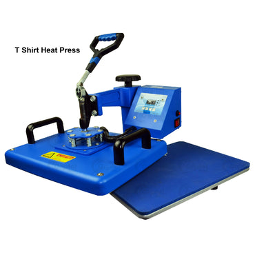 Heat Press Machine Sapphire® 6-in-1 Heat Press Machine Crystal Image Paper Marketing Corp