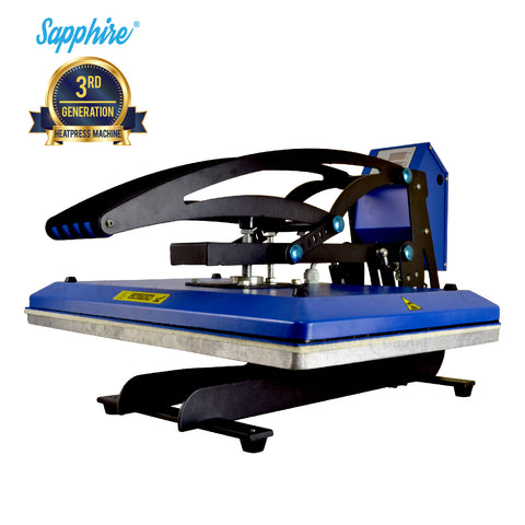 Sapphire® Clam Pro Heat Press Machine