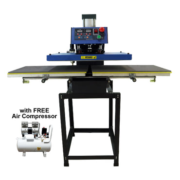 Sapphire® Dual Air Heat Press Machine