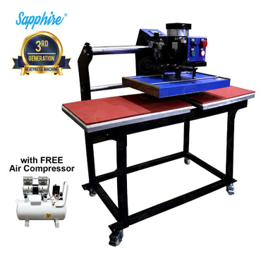 Sapphire® Precision Dual Air Heat Press Machine