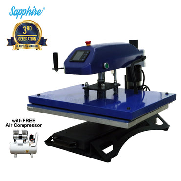 Sapphire® Swinger AirMax Heat Press Machine
