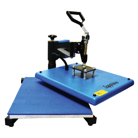 Sapphire® Swinger Max Heat Press Machine Crystal Image Paper Marketing Corp