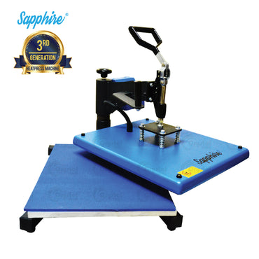 Sapphire® Swinger Max Heat Press Machine