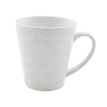 V-Shape White Mug