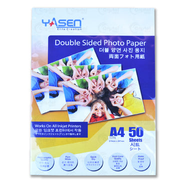 Yasen Double Sided High Glossy Photo Paper