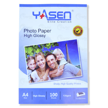 Yasen High Glossy Photopaper