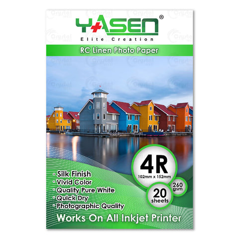 Yasen RC Linen Photo Paper