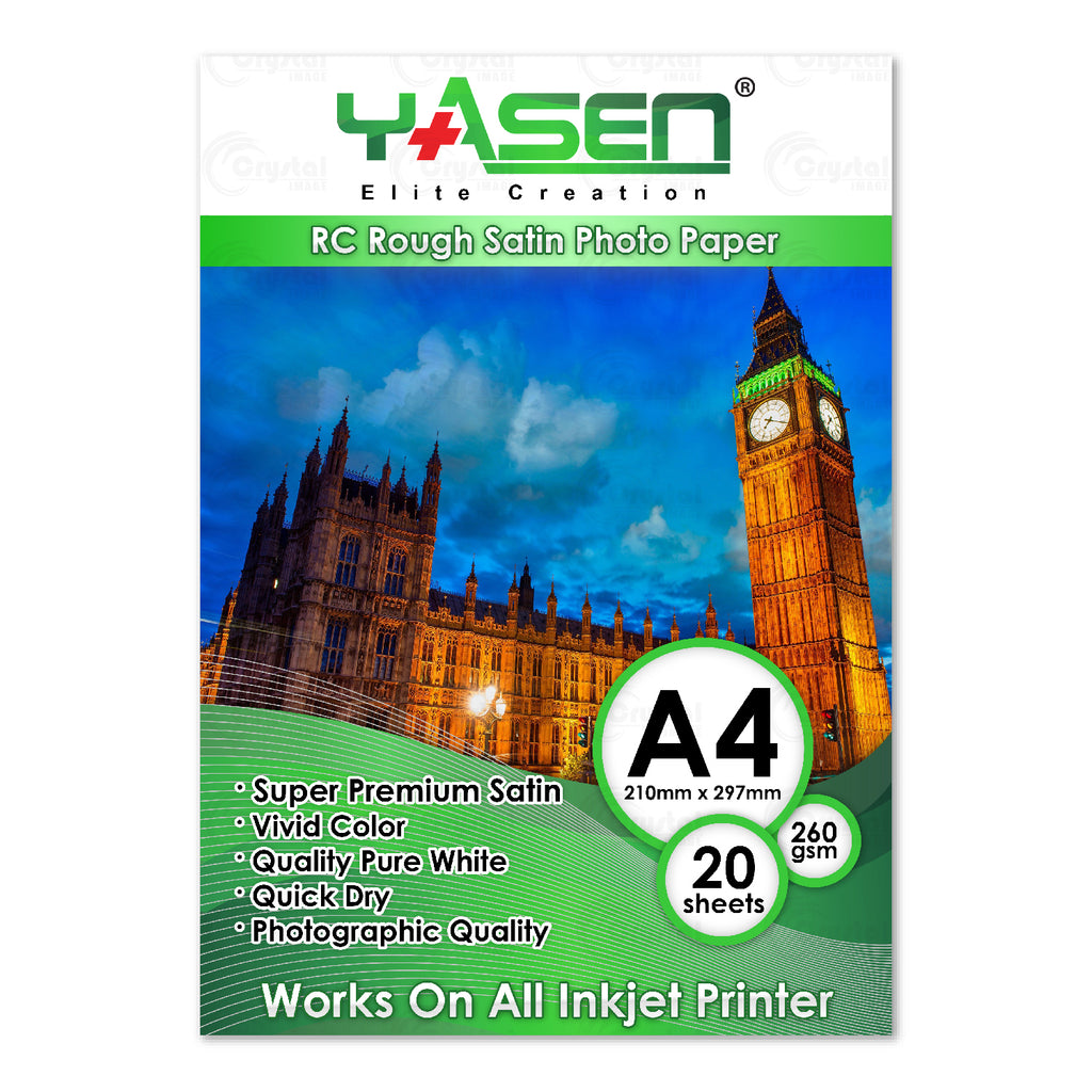 Yasen RC Rough Satin Photopaper