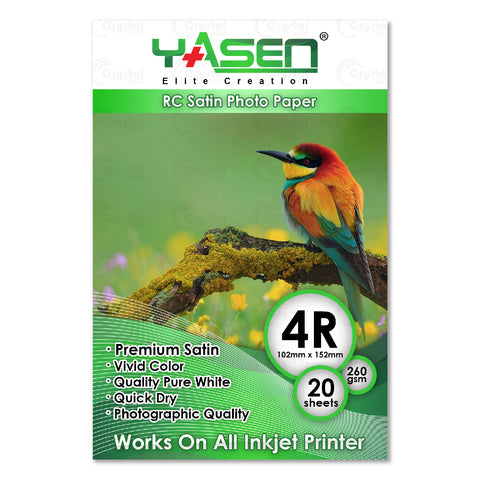Yasen RC Satin Photopaper