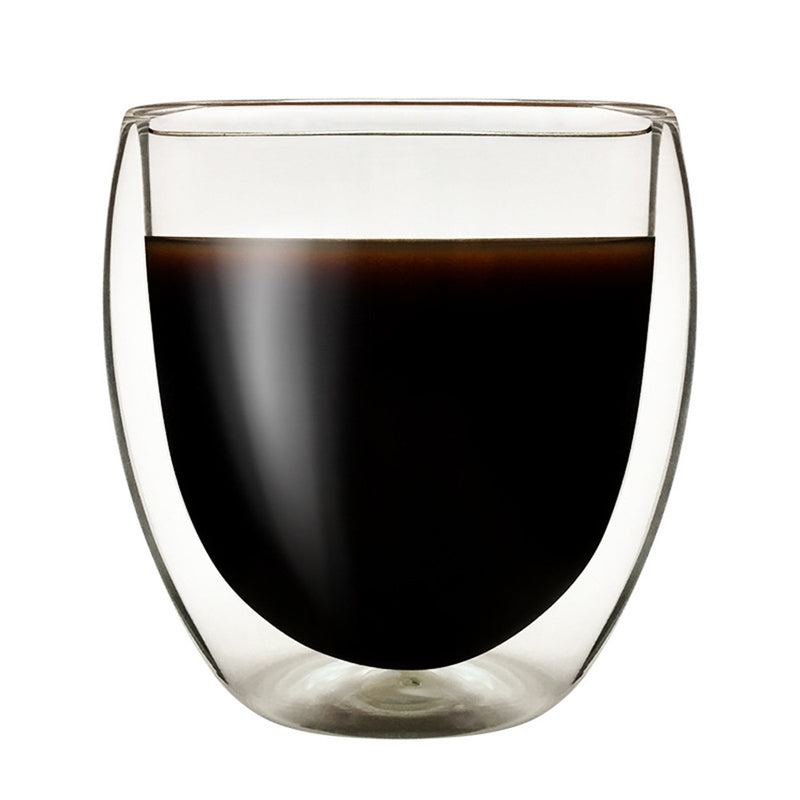 250ML Double Layers Glass Mug - Dripshipper Coffees