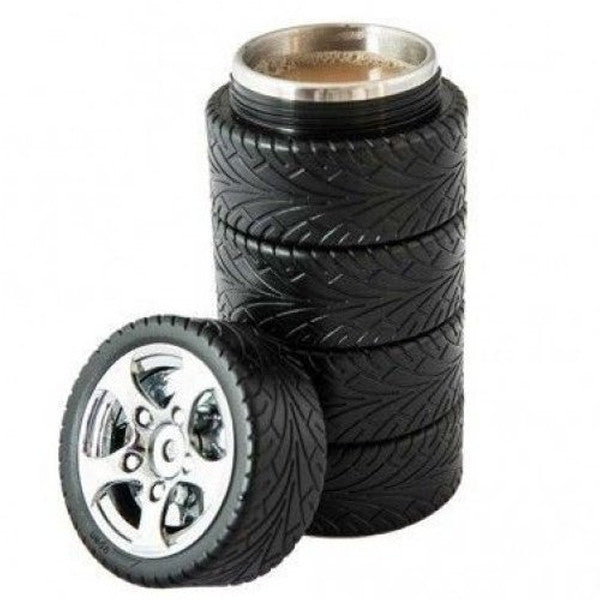 Car Tire Coffee Mug - Dripshipper Coffees