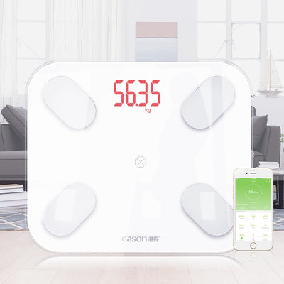 Body Scales Smart Bluetooth Floor Weight Body Fat Water Muscle Mass BMI (For iOS or Android)