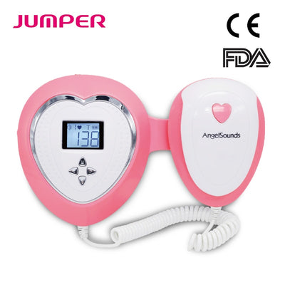 Angelsounds Fetal Doppler Ultrasound Prenatal Baby Heart Beat Monitor No Radiation