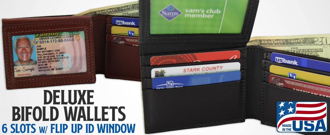 Deluxe Bifold Wallets