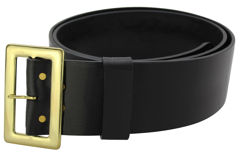 Black Leather Santa Claus Belt (SKU 1045-18)