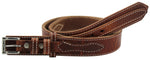 Bullhide Belts Hot Dipped Tan Stitched Workhorse Ranger Belt (SKU 8250-37)