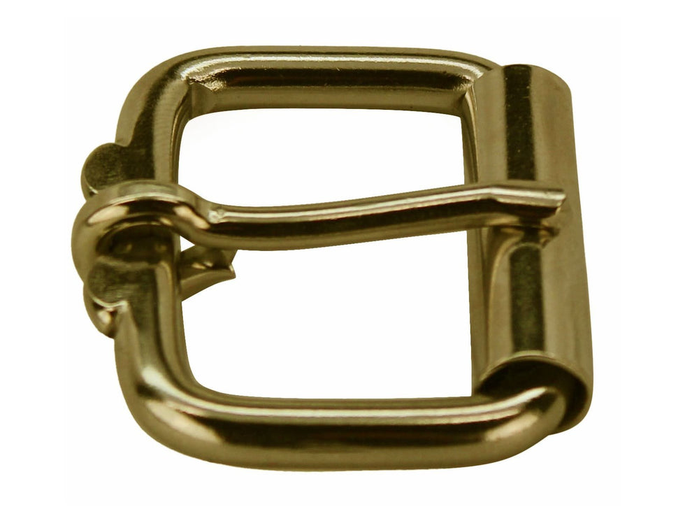 Bullhide Belts Solid Brass Roller Buckle