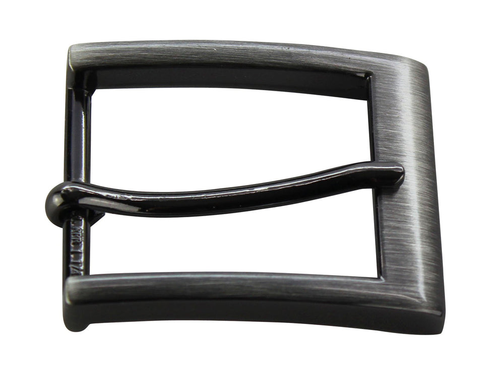 Gun Metal Square Dress Buckle