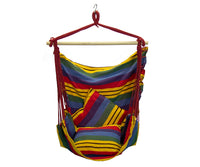 Element - Hammock Scoop Chair - Red Stripes