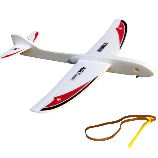 AIRY Model Swallow Eagle 290mm Wingspan PP Foam Hand Launched Rubber Band Ejection Airplane Glider